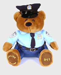 SPVM Teddy bear.