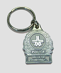 SPVM Insignia reproduction keychain.