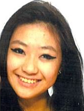 Missing notice - Michelle Gan