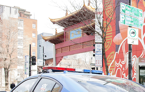 Nouvelle-Increased police presence in Chinatown and its vicinity